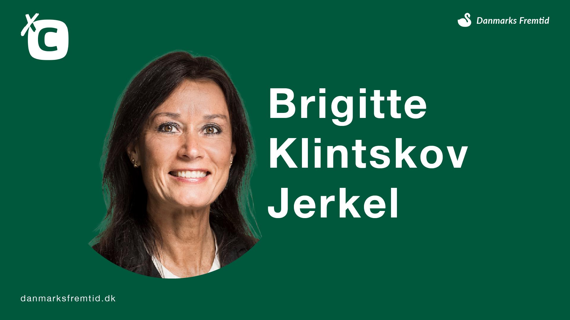 Brigitte Klintskov Jerkel - Det Konservative Folkeparti