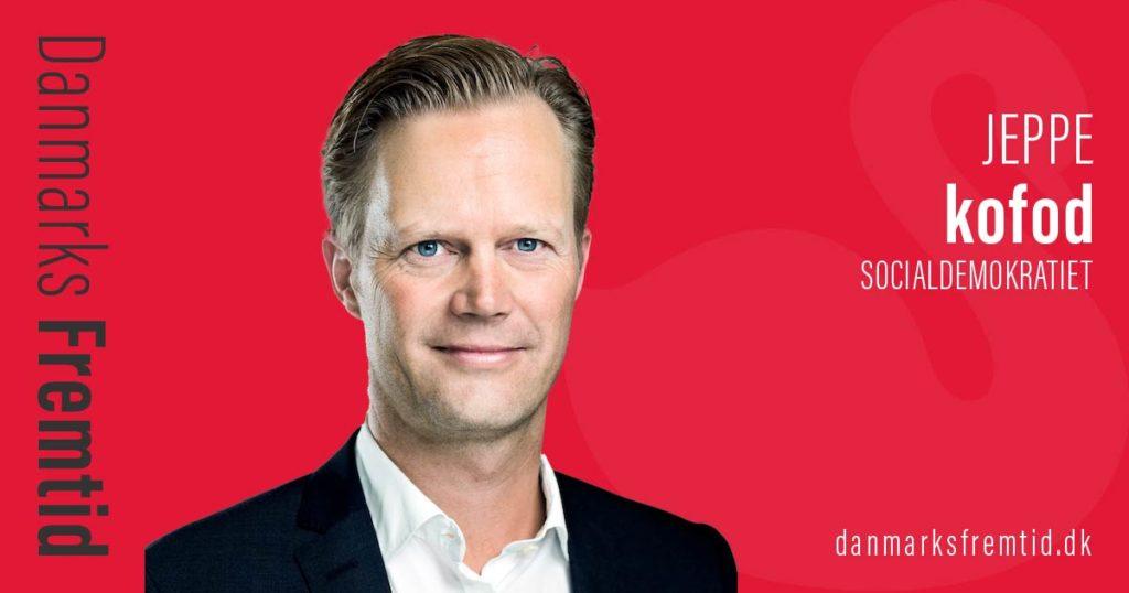 Danmarks Fremtid Socialdemokratiet Jeppe kofod