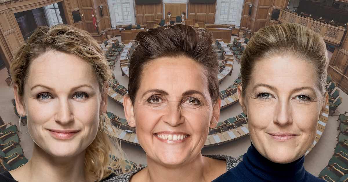 Sofie, Pernille og Pia svigter grundloven
