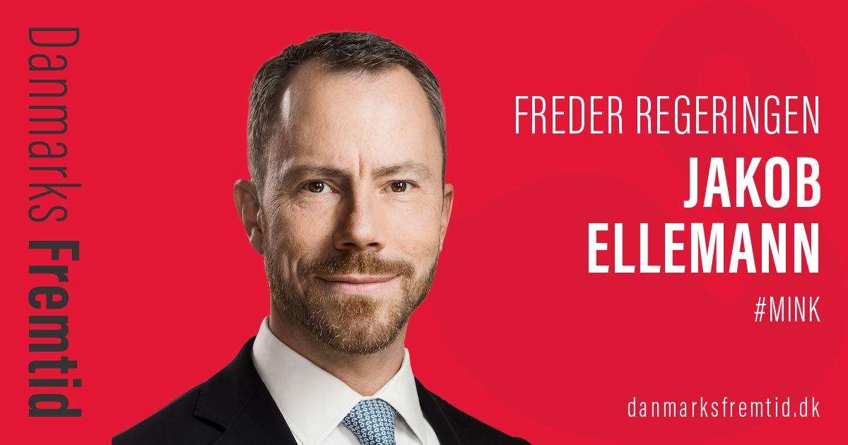 mink: Jakob Ellemann Jensen freder regeringen