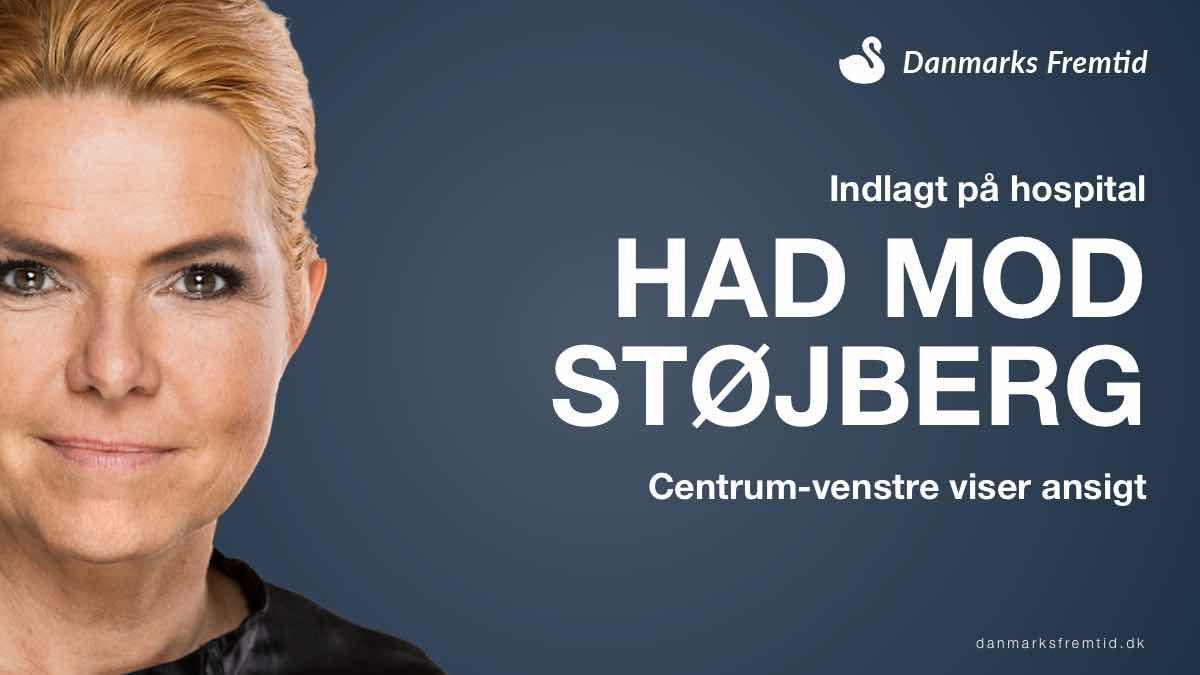 Inger Støjberg indlagt og hadet strømmer mod hende