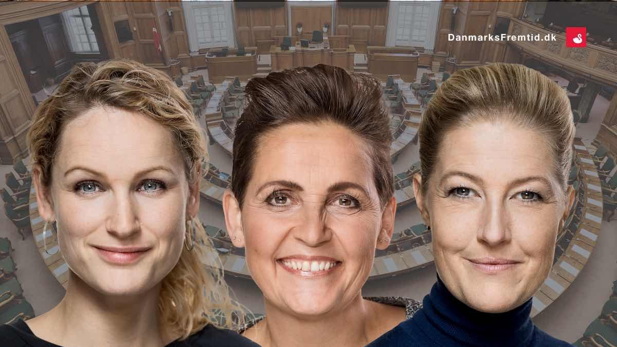Mette Frederiksens marionetdukker - Danmarks Fremtid