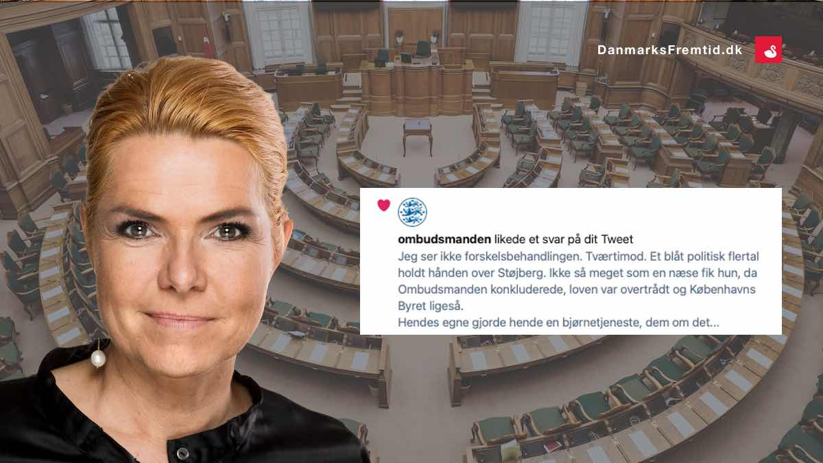 Ombudsmanden mod støjberg - Danmarks Fremtid
