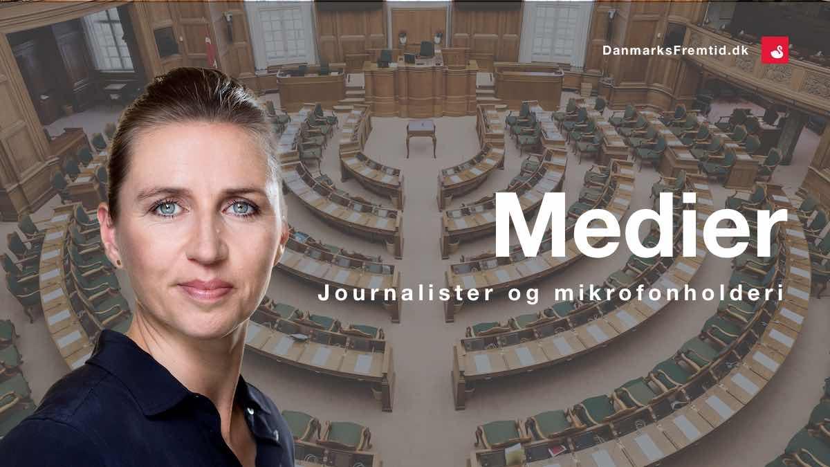 Journalister mikrofonholderi - Danmarks Fremtid