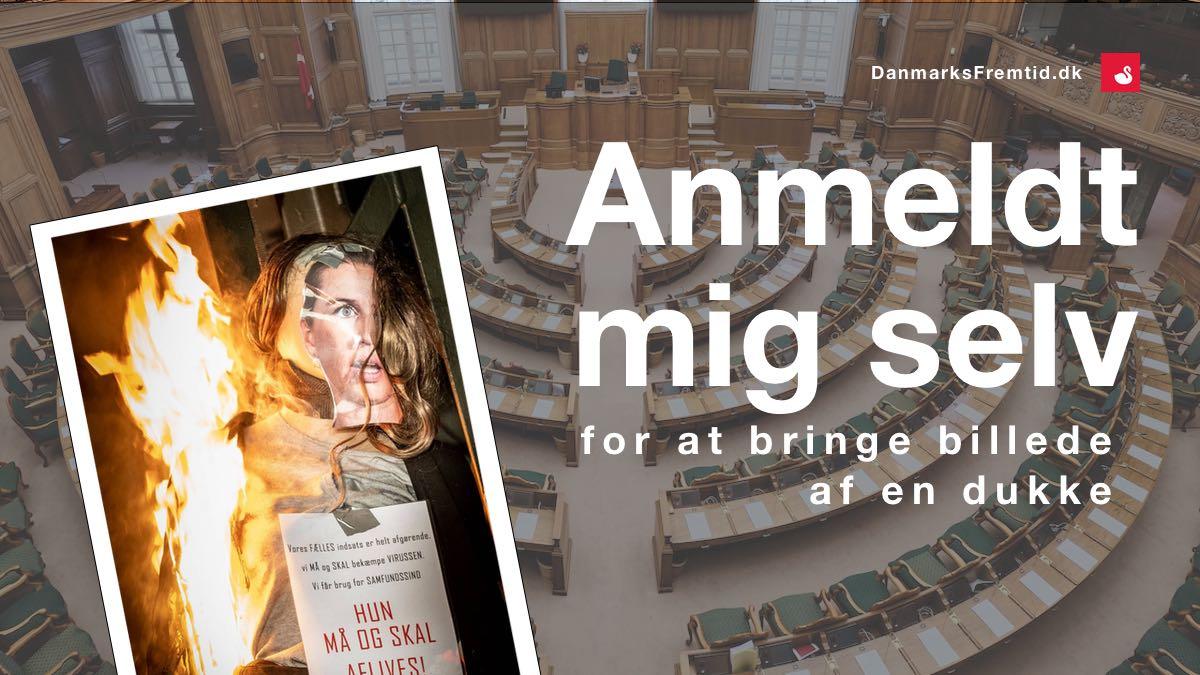 Anmeldelse til politiet - Danmarks Fremtid