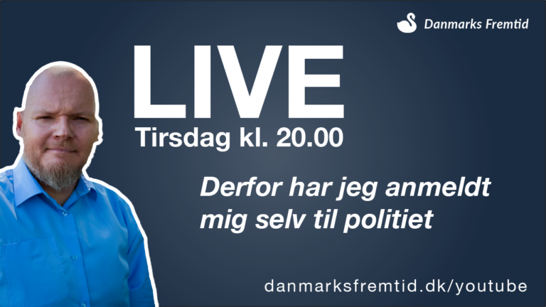 Danmarks Fremtid Live Youtube