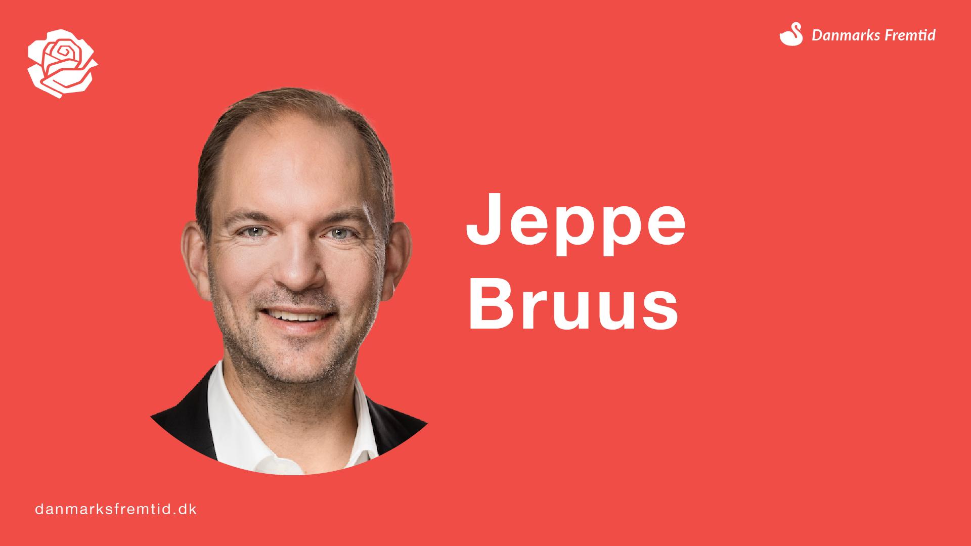 Jeppe Bruus - Socialdemokratiet