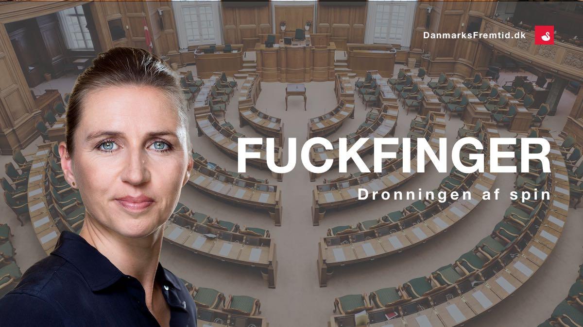 Mette Frederiksen - Fuckfinger - Danmarks Fremtid