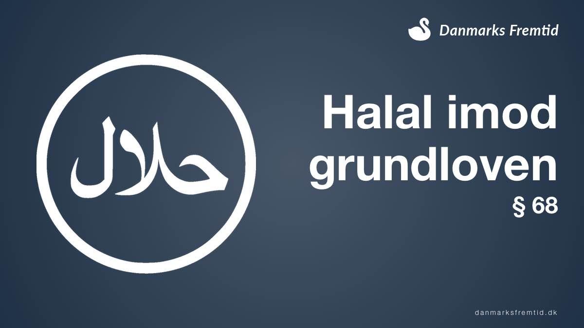 Halal er grundlovsstridig
