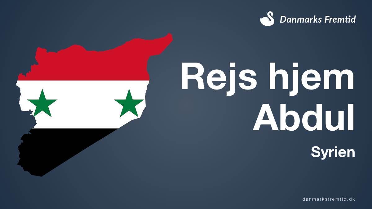 Rejs hjem til Syrien Abdul