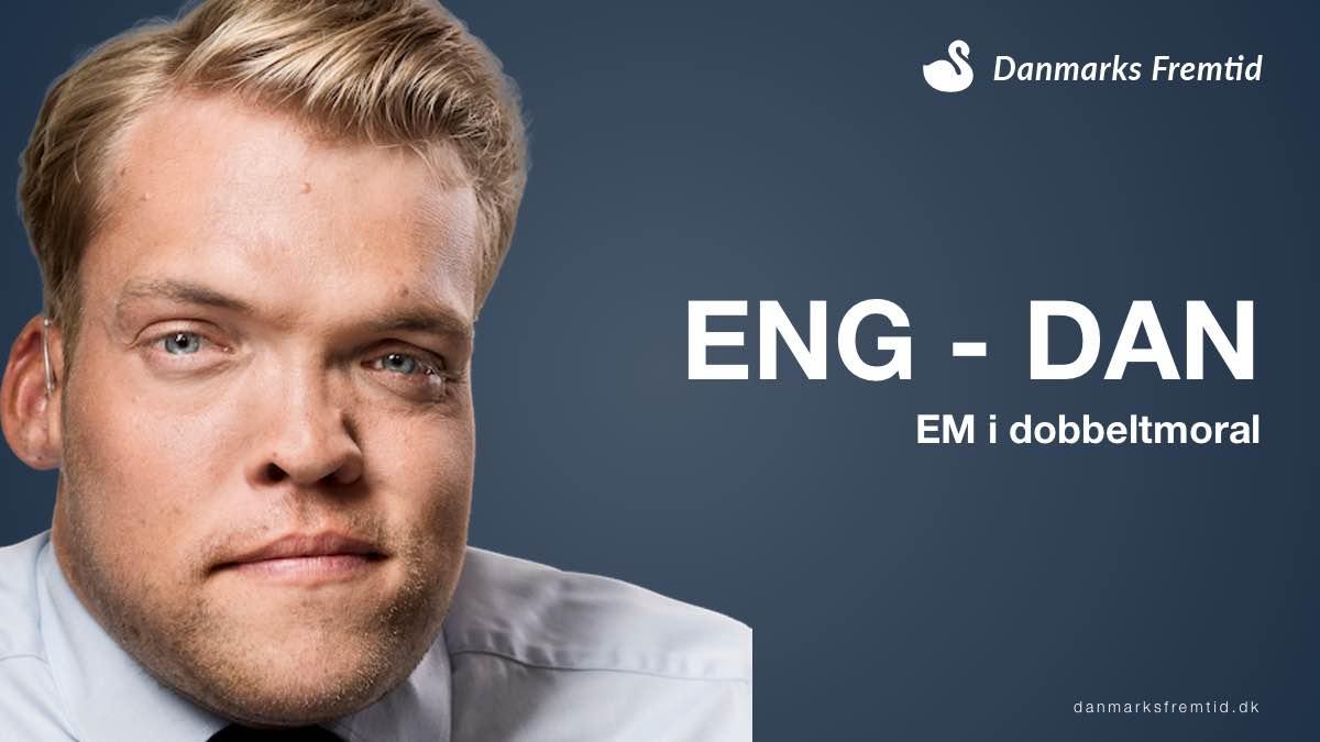 EM 2021- Semifinale afslører danske politikeres dobbeltmoral