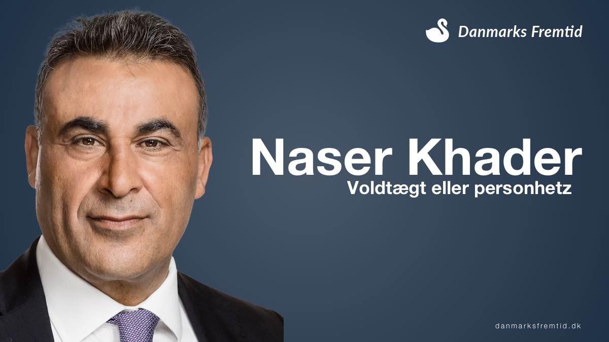 Naser Khader beskyldt for voldtægt