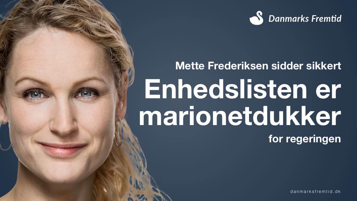 Enhedslisten er Mette Frederiksens marionetdukker