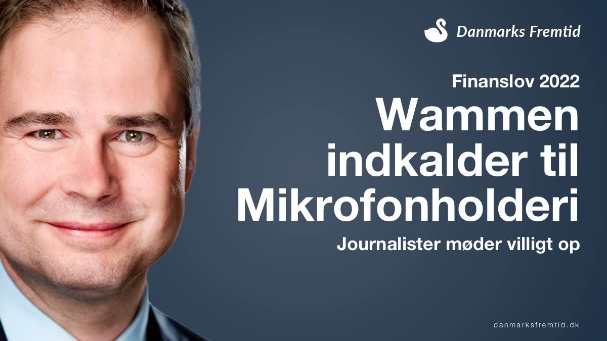 Finanslov 2022 Mikrofonholderi