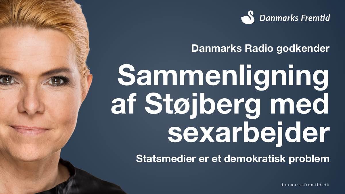 Danmarks Radio - OK at sammenligne Støjberg med sexarbejder