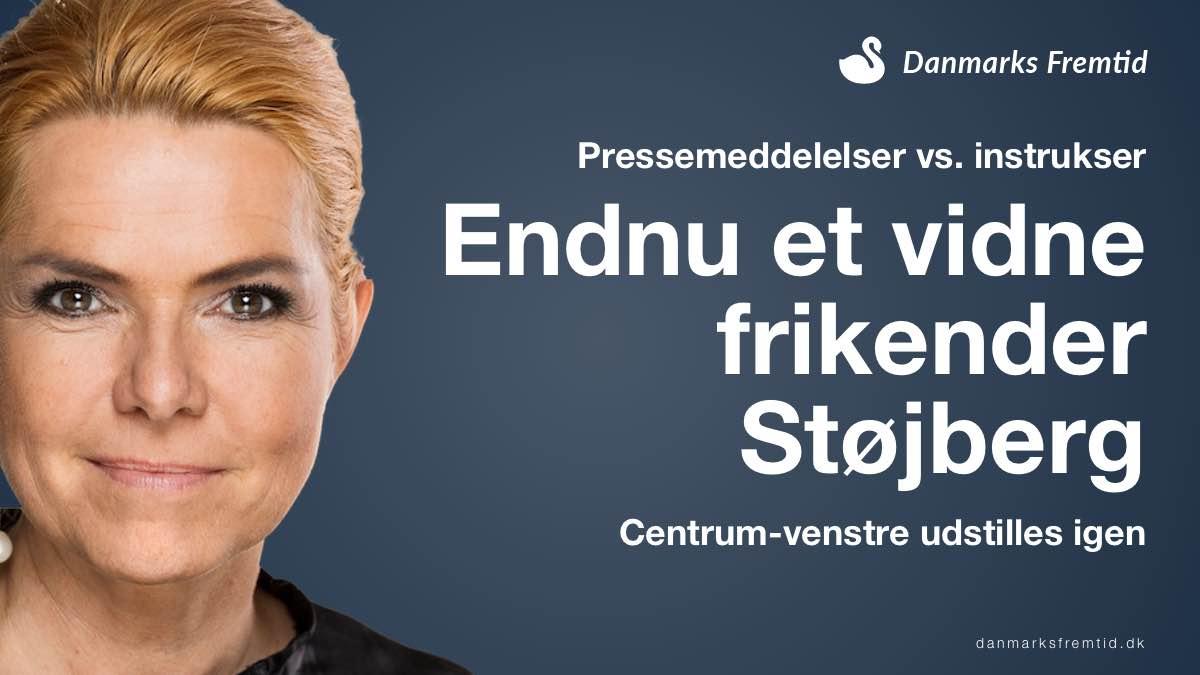 Pressemeddelelser har aldrig været instrukser - Støjberg's rigsret