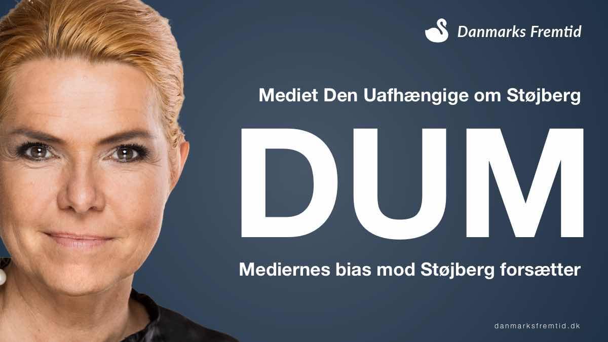Den Uafhængige omtaler Støjberg som dum