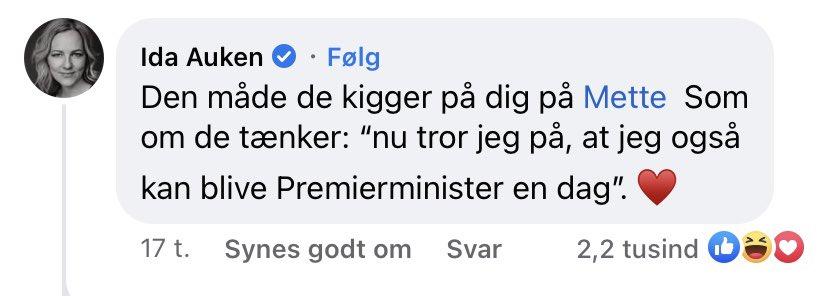 Ida Auken fedter for Mette Frederiksen