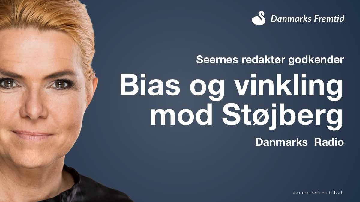 Seernes redaktør godkender bias mod Støjberg